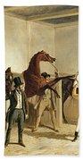 Herring, Racing, 1845 Bath Towel