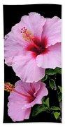 Hibiscus 7 V1 Bath Towel