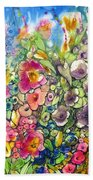 Hibiscus And Friends Bath Towel