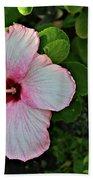 Hibiscus Flower Bath Towel