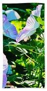 Hibiscus Garden Bath Towel