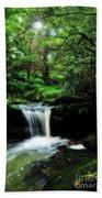Hidden Rainforest - Painterly Bath Towel