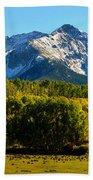 High Peaks Of The San Juan Mountains Hand Towel