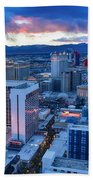 High Roller Sunset Bath Towel