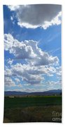 High Winds Chase The Rain Clouds Away Hand Towel