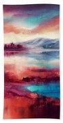 Highland Sunrise Bath Towel