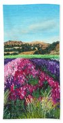 Highway 246 Flowers 3 Bath Towel
