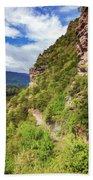 Hike Up Mt Iron Wanaka New Zealand Bath Towel