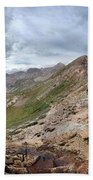 Hikers On Columbine Pass - Weminuche Wilderness - Colorado Bath Towel