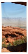 Hiking Through Arches Bath Towel