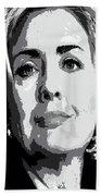 Hillary Clinton Bath Towel