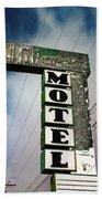 Hillcrest Motel Bath Towel