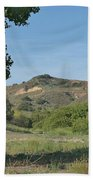 Hills In Peters Canyon Bath Towel