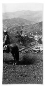 Hills Of Guanajuato - Mexico - C 1911 Hand Towel