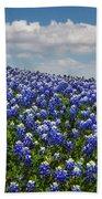 Hillside Texas Bluebonnets Bath Towel