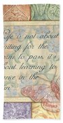 Hint Of Spring Butterfly 2 Bath Towel
