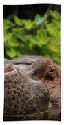 Hippo Bath Towel