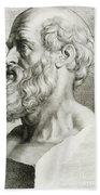 Hippocrates, Greek Physician Hand Towel