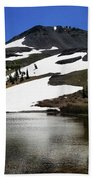 Hiram Peak Glaciers Bath Towel