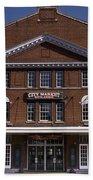 Historic Roanoke City Market Building Bath Towel