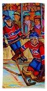 Hockey  Hero Hand Towel