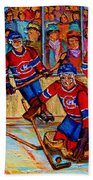Hockey  Hero Bath Towel