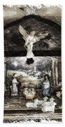 Holiday Christmas Manger Pa 01 Bath Towel