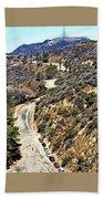 Hollywood Sign / Hollywood Hills Bath Towel