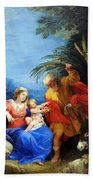 Holy Family Bath Towel