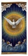 Holy Spirit Bath Towel