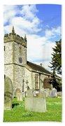 Holy Trinity Church - Ashford-in-the-water Bath Towel