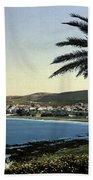 Holyland - Mount Carmel Haifa Bath Towel