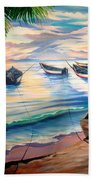 Home From The Sea Hand Towel