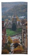 My Hometown Cumberland, Maryland Bath Towel