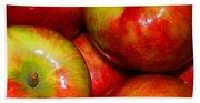 Honeycrisp Apples Bath Towel