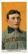Honus Wagner, Pittsburg Pirates Bath Towel