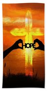 Hope - Painting Hand Towel