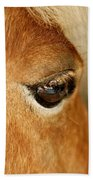 Horse Eye Bath Towel