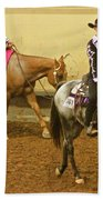Horse Girls Bath Towel