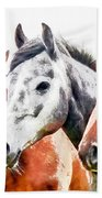 Horses - Id 16217-202757-3803 Bath Towel