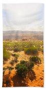 Horseshoe Bend Desert Bath Towel