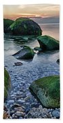 Horton Point Ny At Sunset Bath Towel