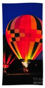 Hot Air Balloons Bath Towel