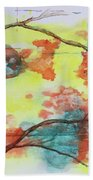 Hot Canyon Winds Hand Towel