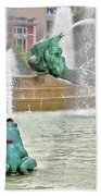 Hot Day In Philly Bath Towel