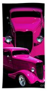Hot Pink 33  Bath Towel