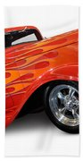Hot Rod Ford Coupe 1932 Bath Towel