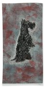 Hot Scottie Bath Towel