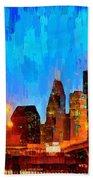 Houston Skyline 102 - Pa Bath Towel