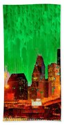 Houston Skyline 112 - Pa Bath Towel